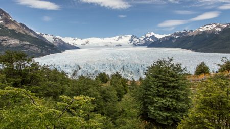 perito moreno glacier, argentina, mountains