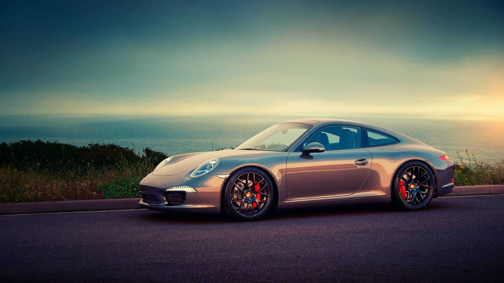 Porsche Hd Wallpapers 1080p: Download Wallpaper 1920x1080 Porsche, Beautiful, Asphalt