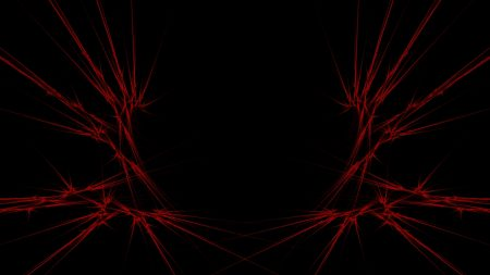 red, black, abstract