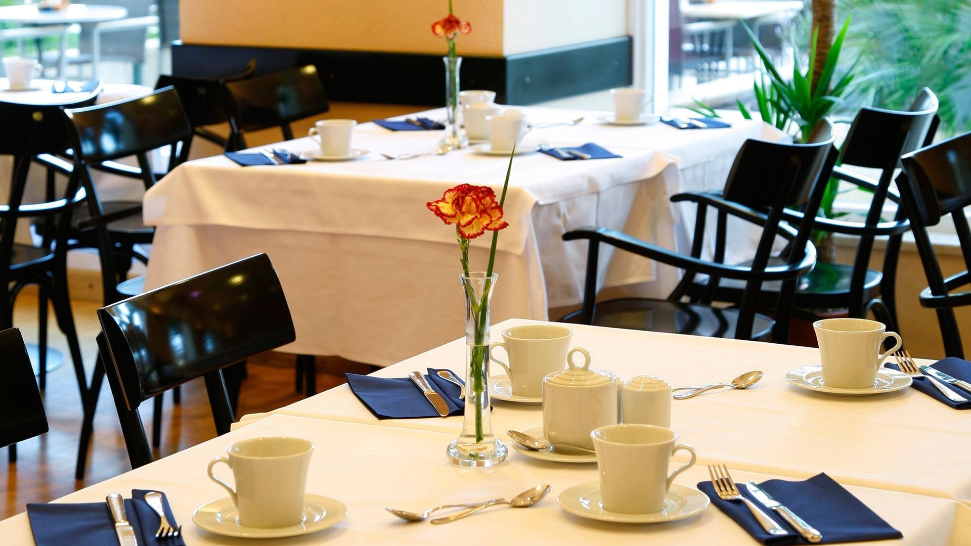 Download wallpaper restaurant table appliances