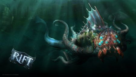 rift, monster, underwater