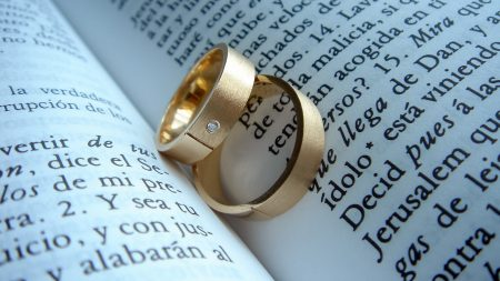rings, book, gift
