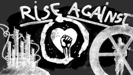 rise against, graphics, name