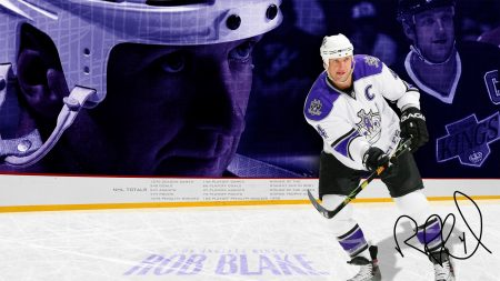 rob blake, hockey, club