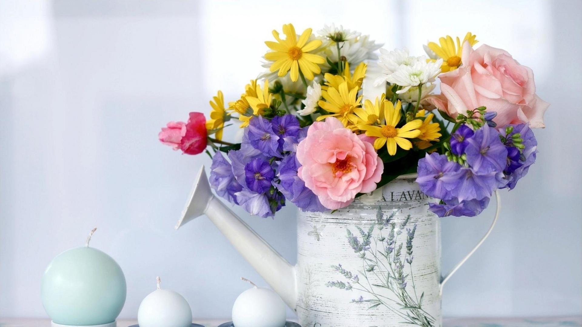 Ваз с цветами фото подарок