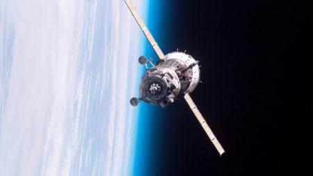 satellite, orbit, flight