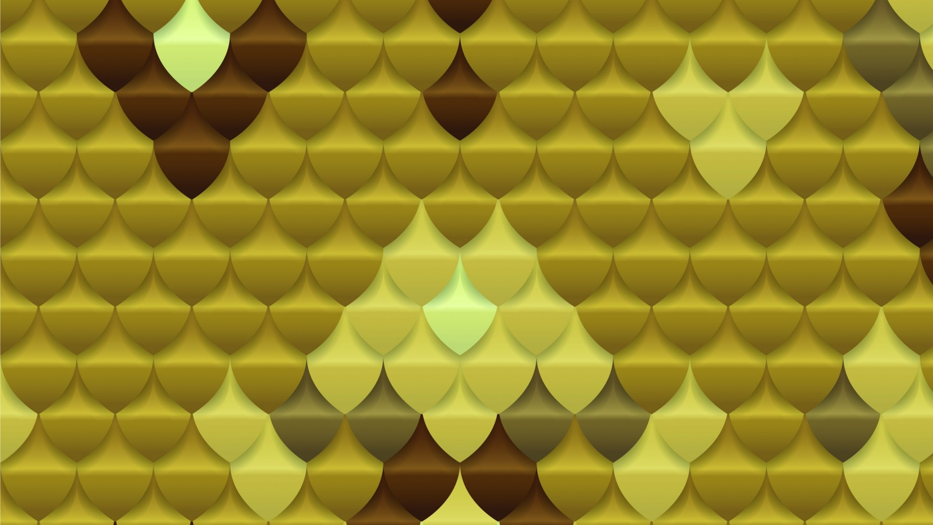 Download Wallpaper 1920x1080 Scales Gold Texture Full HD 1080p