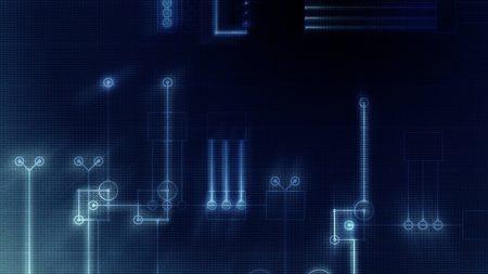 scheme, contact, blue