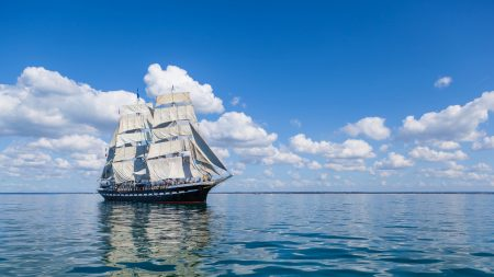sea, sail, ship