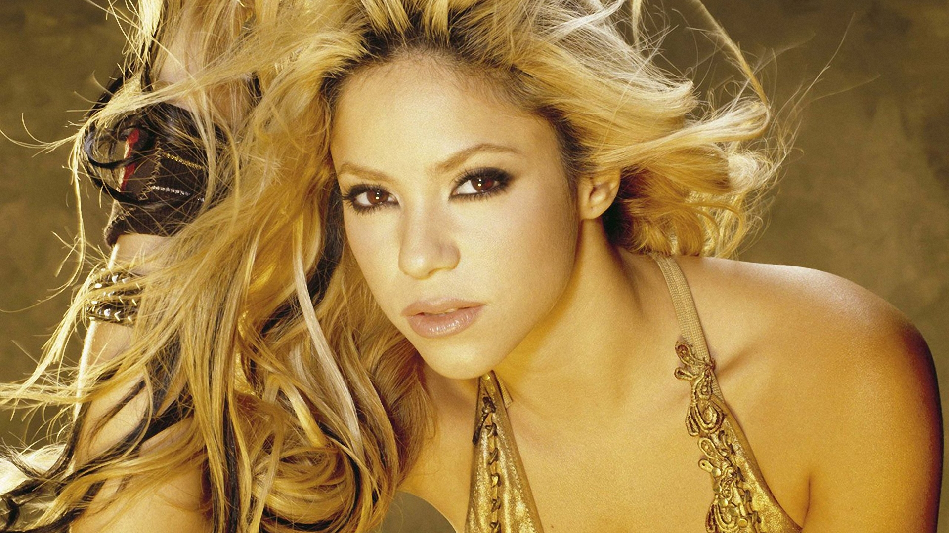 shakira Like many eponymous albums, shakira's self-titled 2014 set marks a new beginning: a new album for a new label after she got a new job the new job was as a co-host on the hit american televised musical contest the voice, the new label was rca, and the new album was her first full-fledged pop album since she wolf, the rather brilliant, hard electronic dance record that stiffed in 2009.