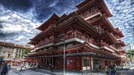 singapore, chinatown, buddha