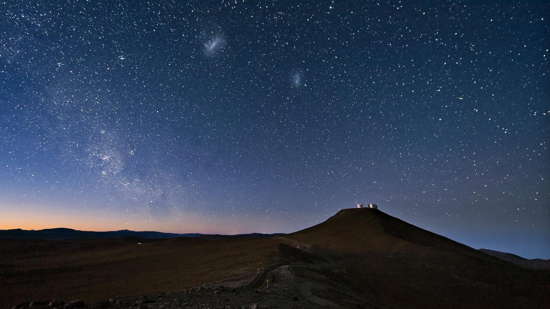 Download Wallpaper 1920x1080 Sky Constellations Night