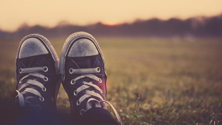 Earnings Disclaimer >> Download Wallpaper 1920x1080 sneakers, shoes, feet, grass ...