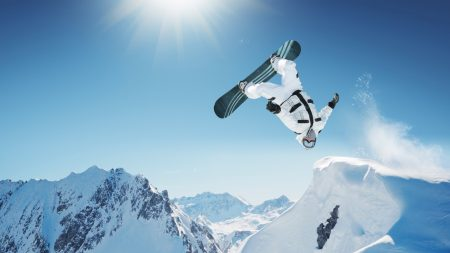 Download Wallpaper 1920x1080 Snowboarding Red Bull Trick