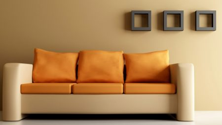 sofa, furniture, leather