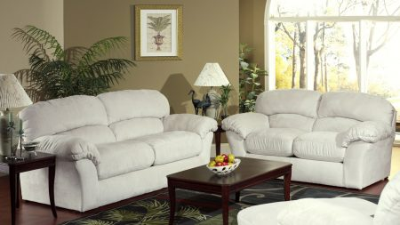 sofa, table, furniture