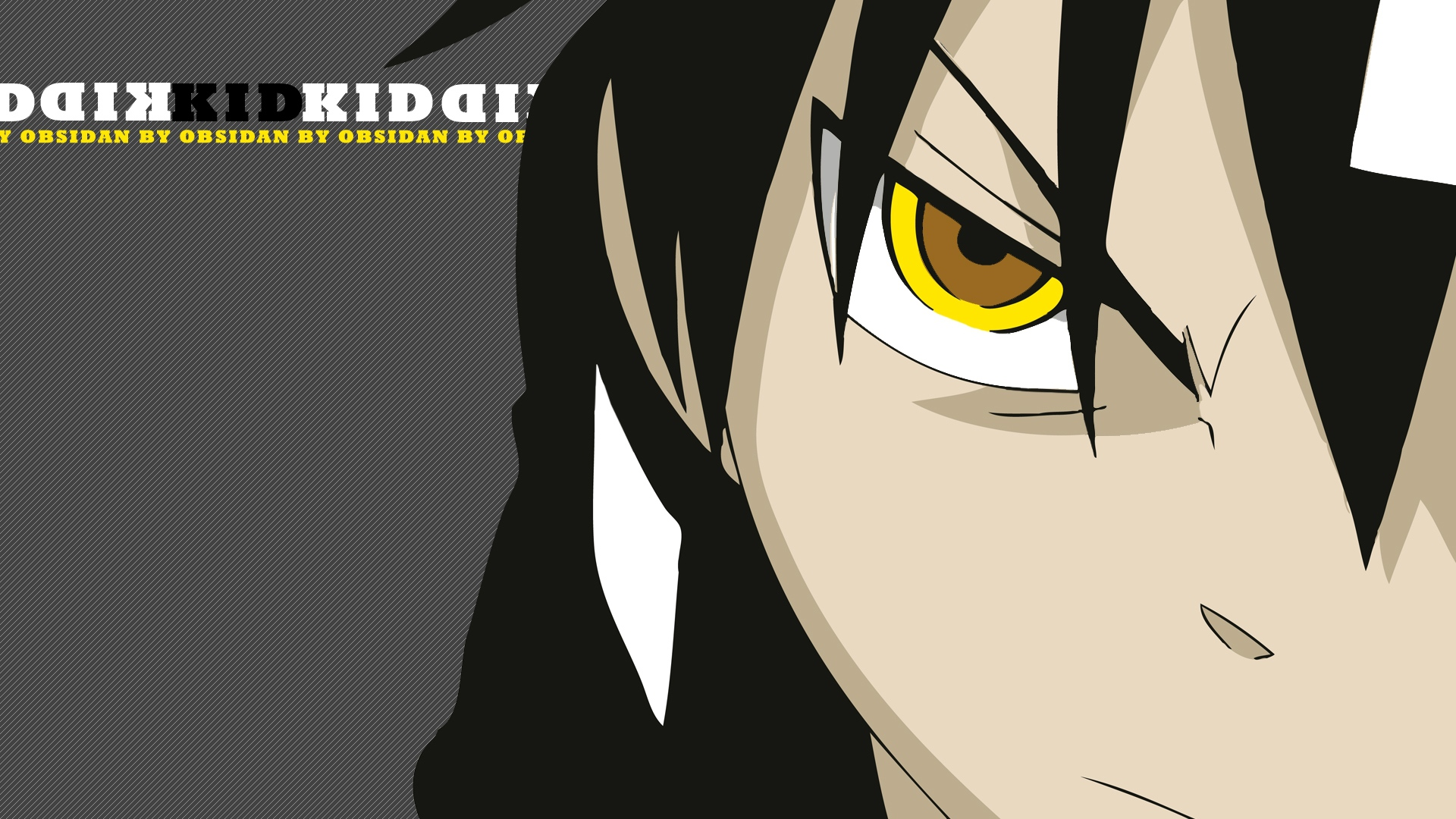 Download Wallpaper 1920x1080 Soul Eater, Death The Kid