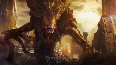 starcraft 2, monster, city