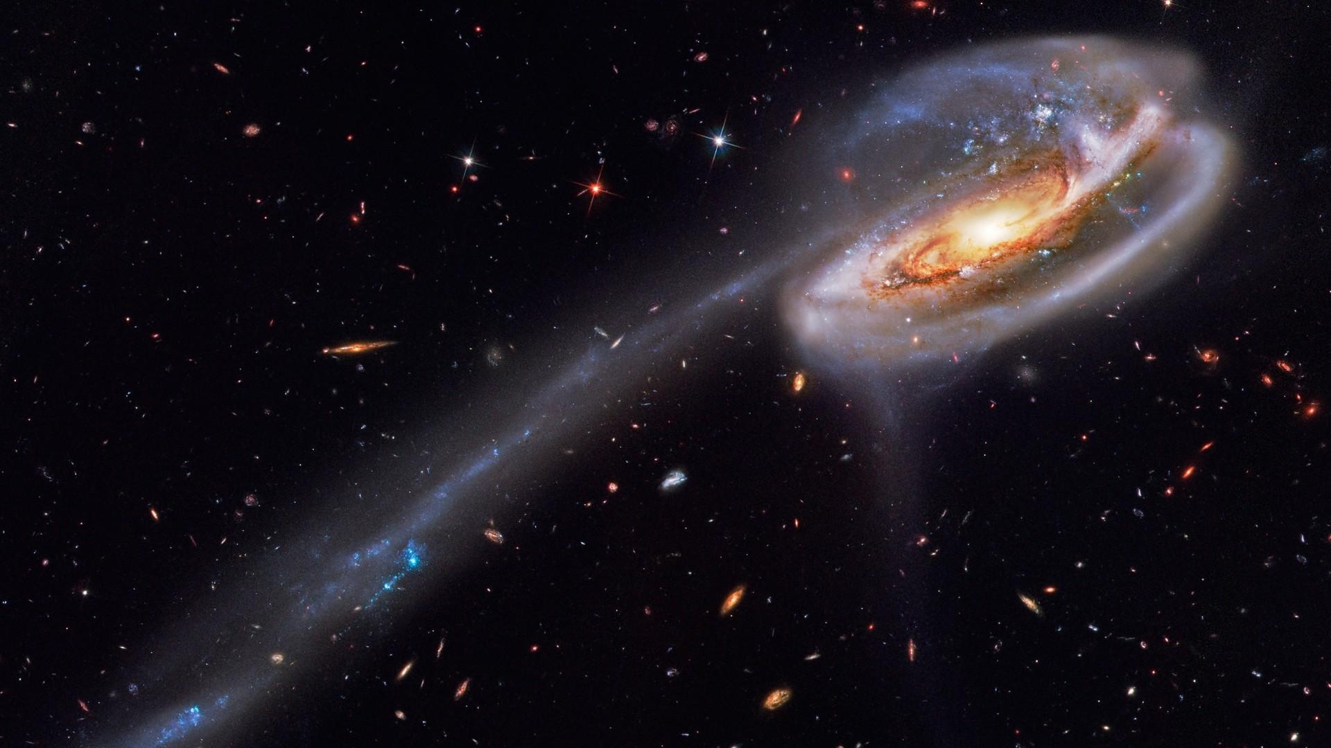 Download Wallpaper 1920x1080 Nebula Space Stars Sky Full HD 1080p