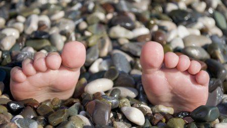 summer, sea, legs