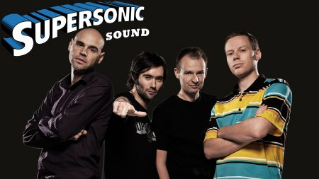 supersonic, band, faces