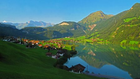 switzerland, mountain, landscape
