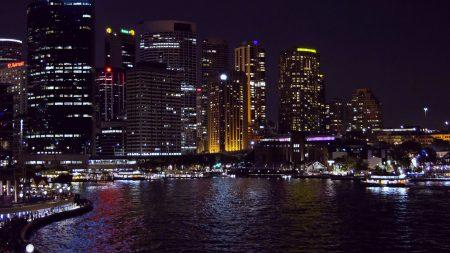 sydney, australia, night