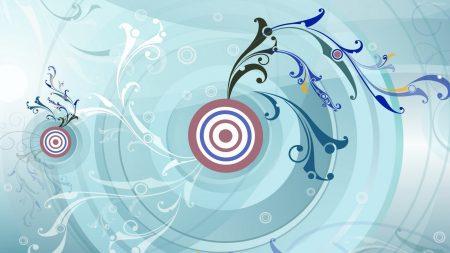 target, patterns, blue