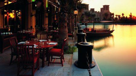terrace, cafe, city