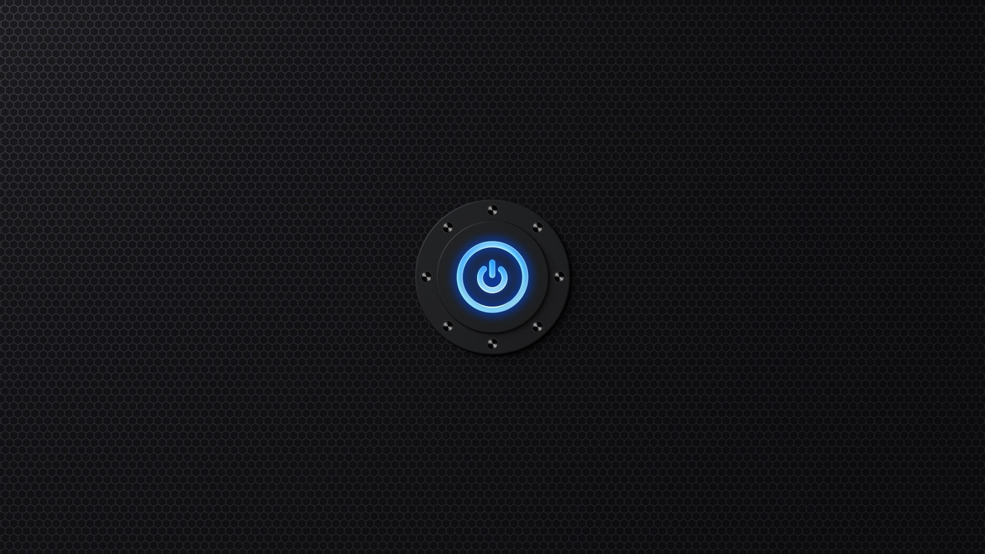 download wallpaper 1920x1080 texture, light, button, symbol, neon