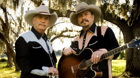 the bellamy brothers, hats, guitar