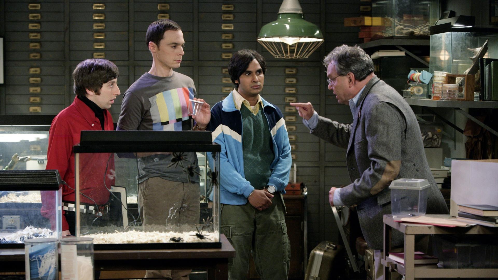 big bang theory main characters