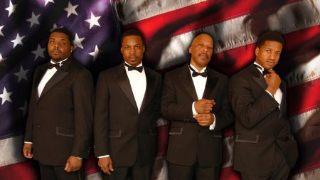 the drifters, band, suits