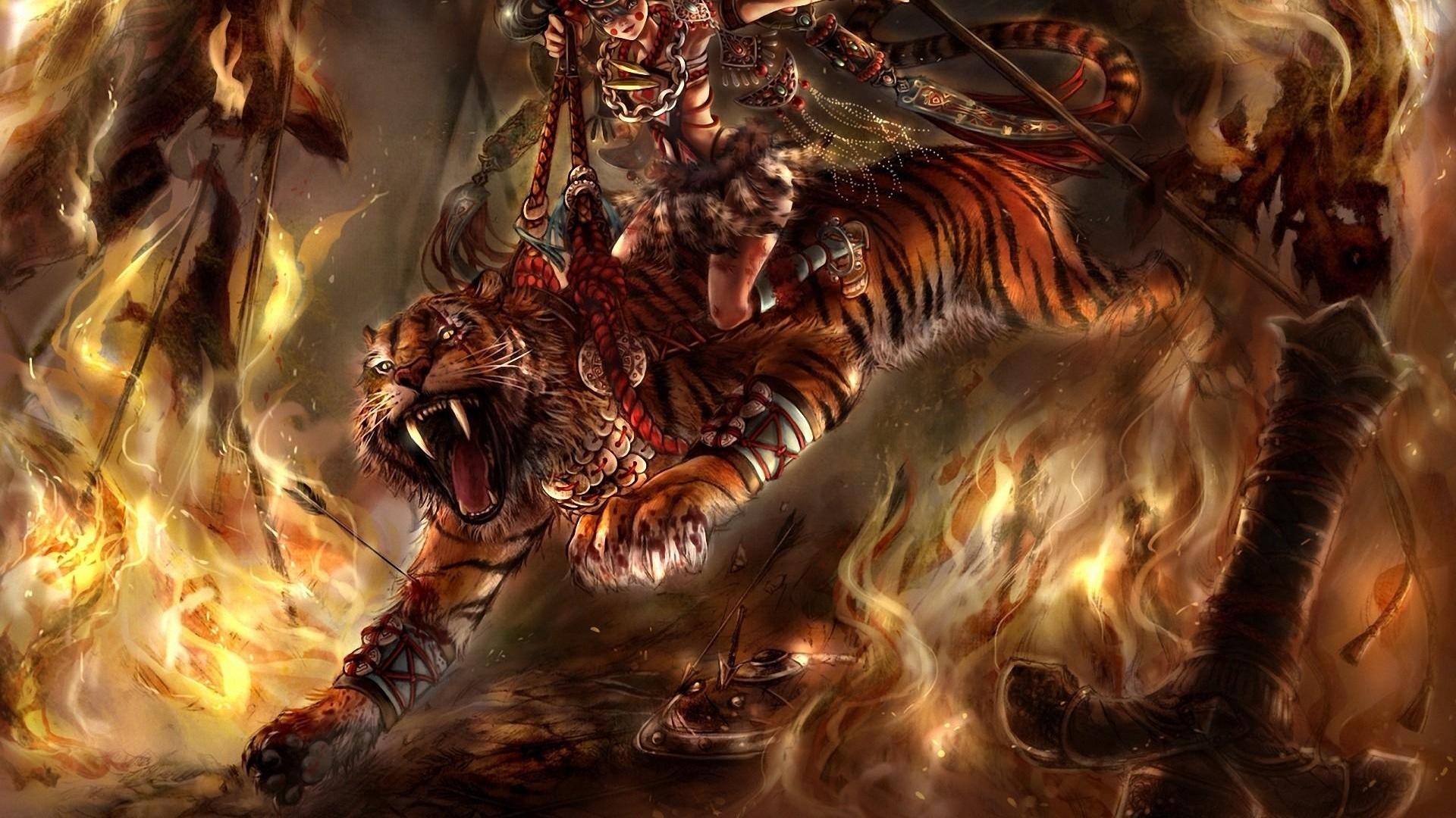 ... Ducati Diavel Tiger Fire Fantasy 2013 | El Tony ...