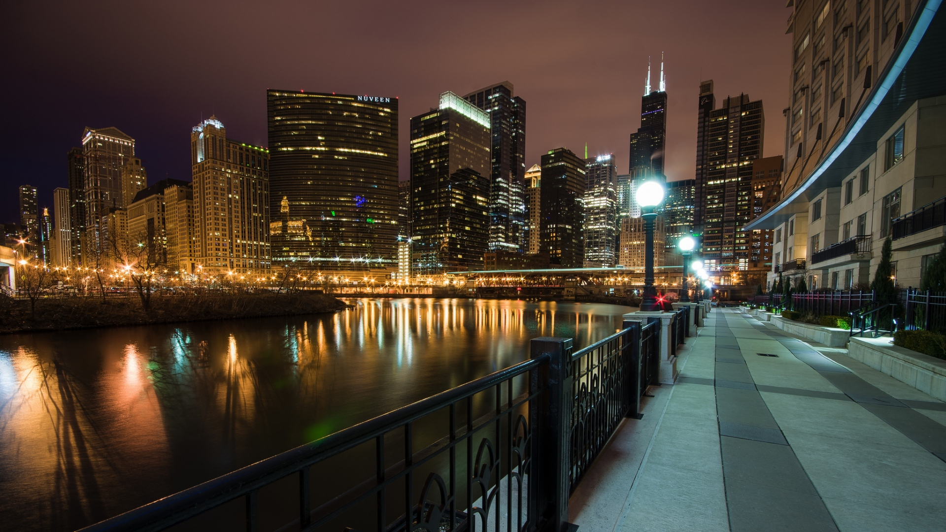 Popular Wallpaper Night Chicago - usa_illinois_chicago_wolf_point_79299_1920x1080  Pic.jpg