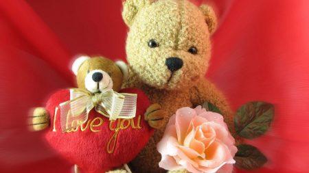 valentines day, bears, hearts