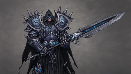 warcraft, knight, sword