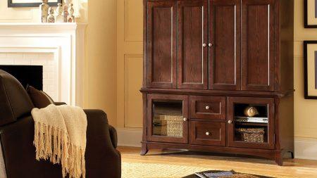 wardrobe, chair, rug