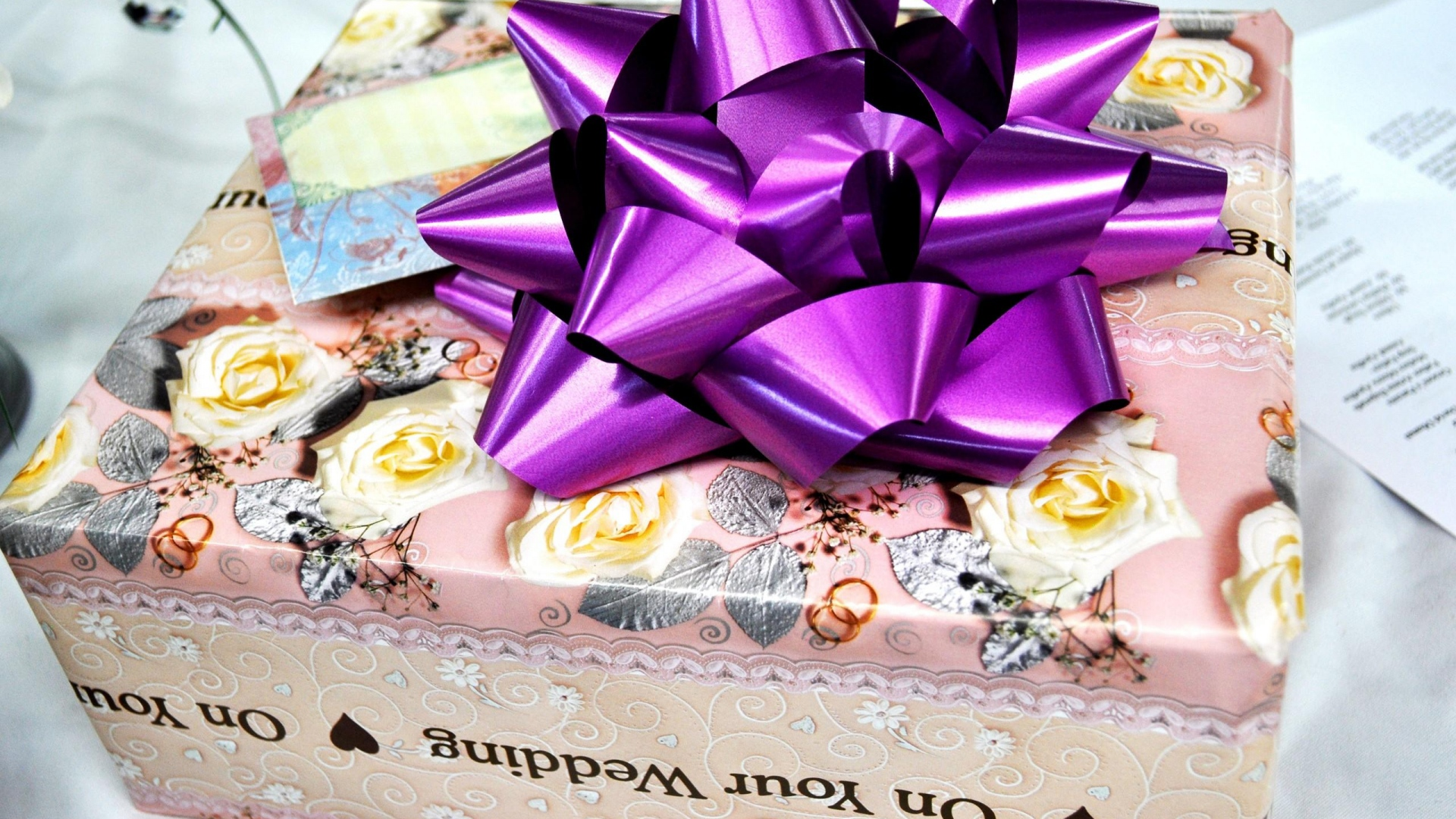 Wedding Gift Ribbon Packaging