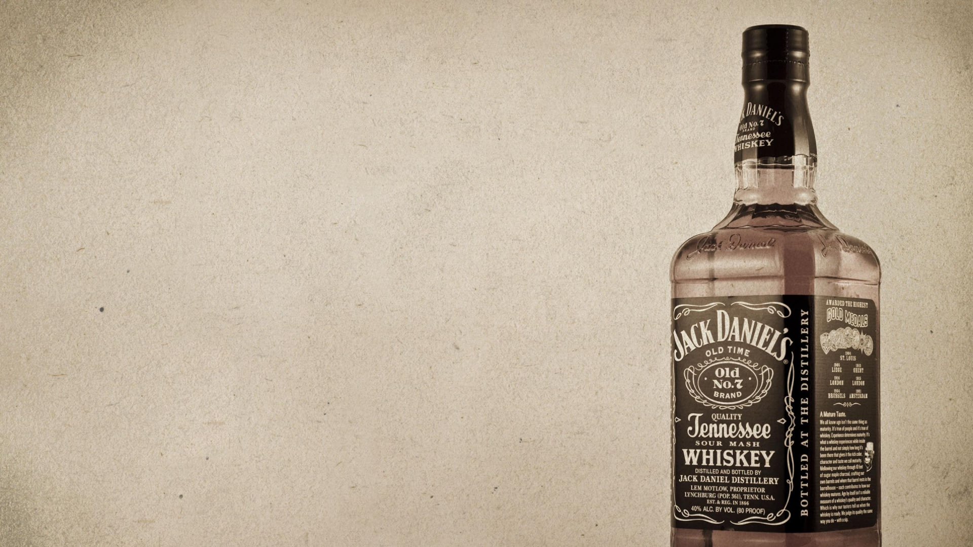 Download wallpaper 1920x1080 whiskey jack daniels bottle whiskey jack daniels bottle voltagebd Gallery