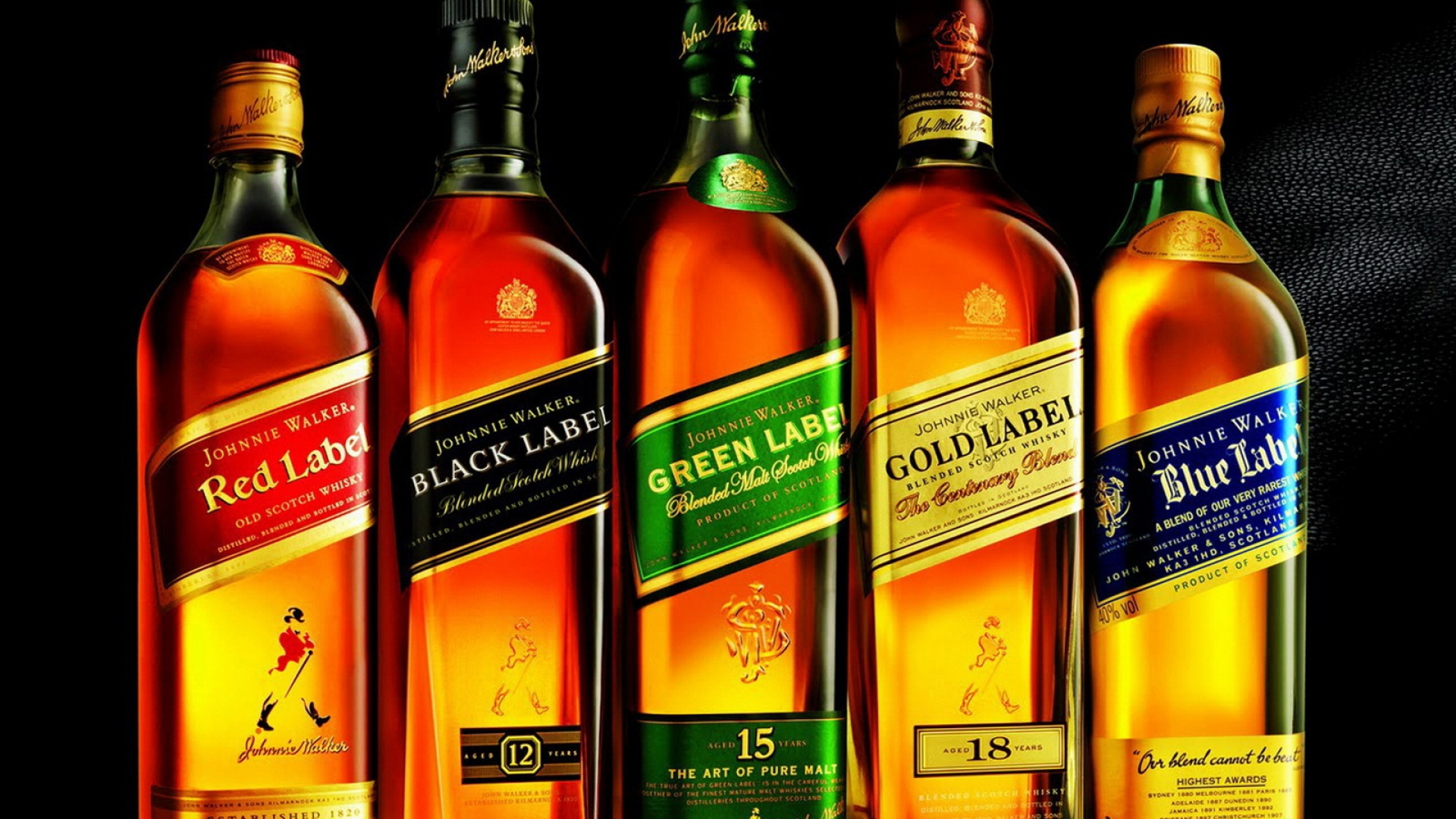 Download Wallpaper 1920x1080 Whiskey, Johnnie Walker