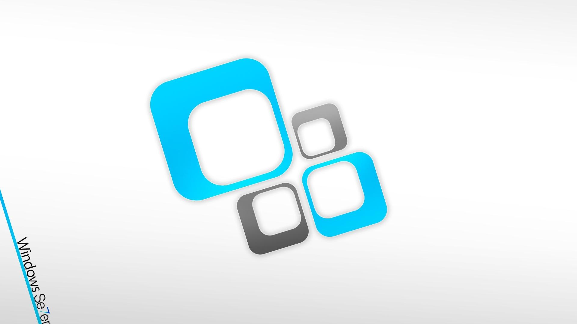 Windows 7 Blue White Gray 30978 1920x1080