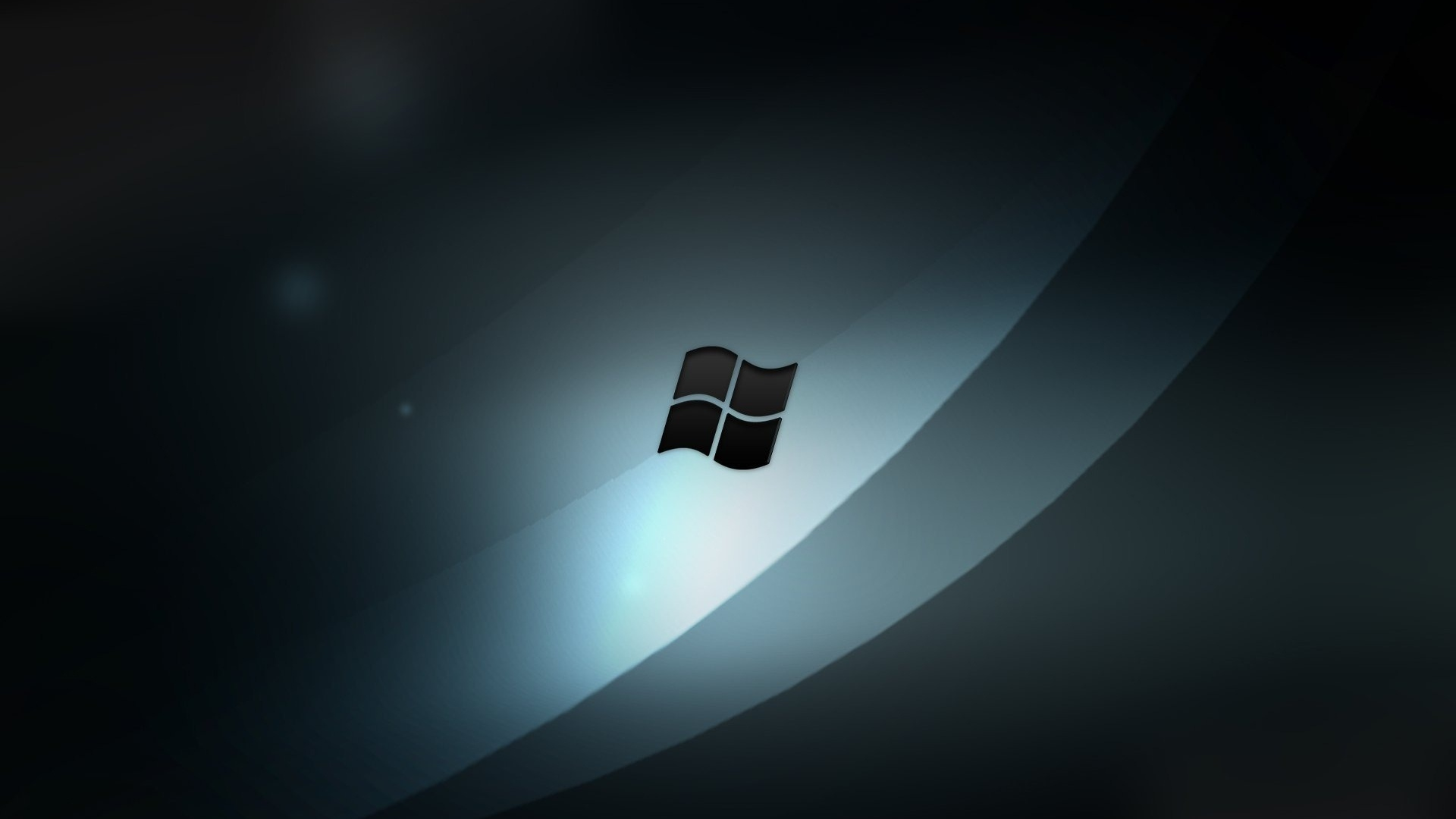 download wallpaper 1920x1080 windows 7, sign, symbol, bw full hd
