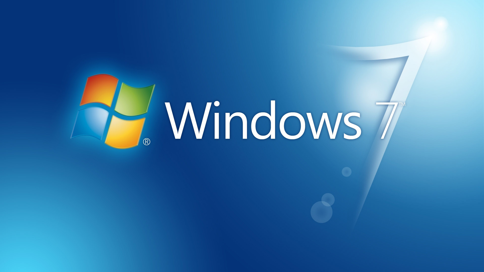 Windows 7 Glow Blue wallpapers (47 Wallpapers) - HD Wallpapers