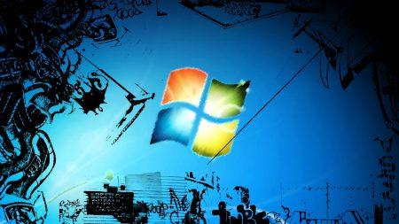 windows, vector, background
