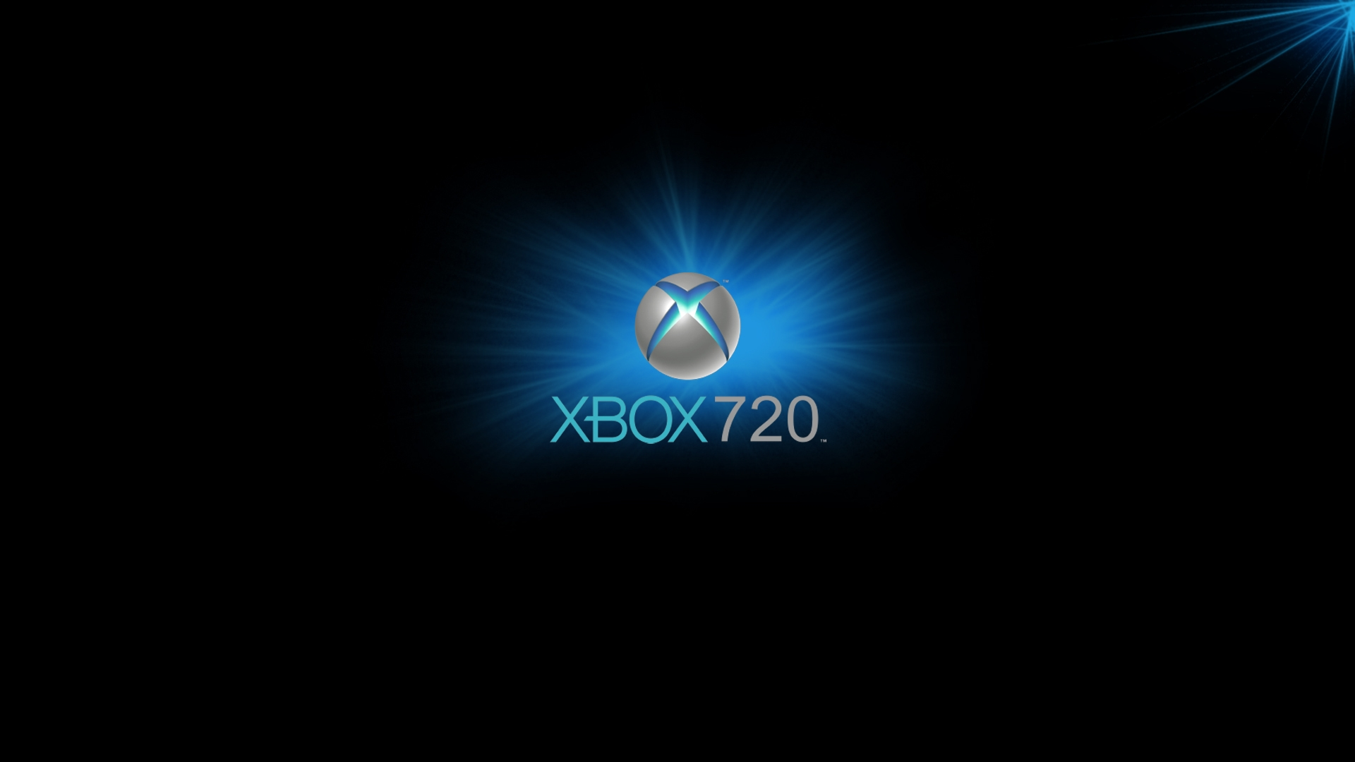 download wallpaper 1920x1080 xbox game console blue