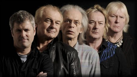 yes, faces, band