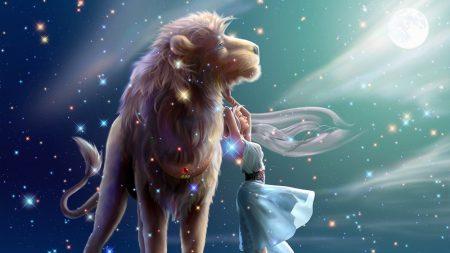 zodiac, sign, lion