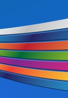 ainbow, band, colorful