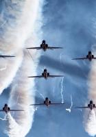 airplane, flight, sky
